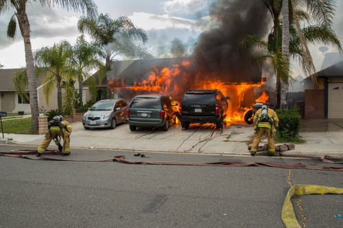 Attached Garage Fire Hazards